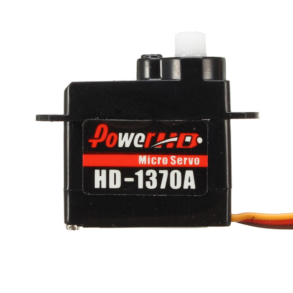 Power HD-1370A 0.6KG 3.7g Micro Steering Engine Micro Servo Compatible with Futaba/JR RC Car Part - Photo: 2