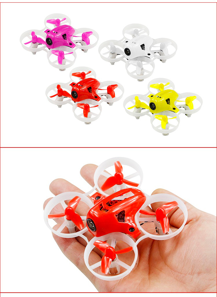KINGKONG/LDARC TINY 6X 65mm Micro Racing FPV Quadcopter With 716 Brushed Motors Baced on F3 Brush Flight Controller
