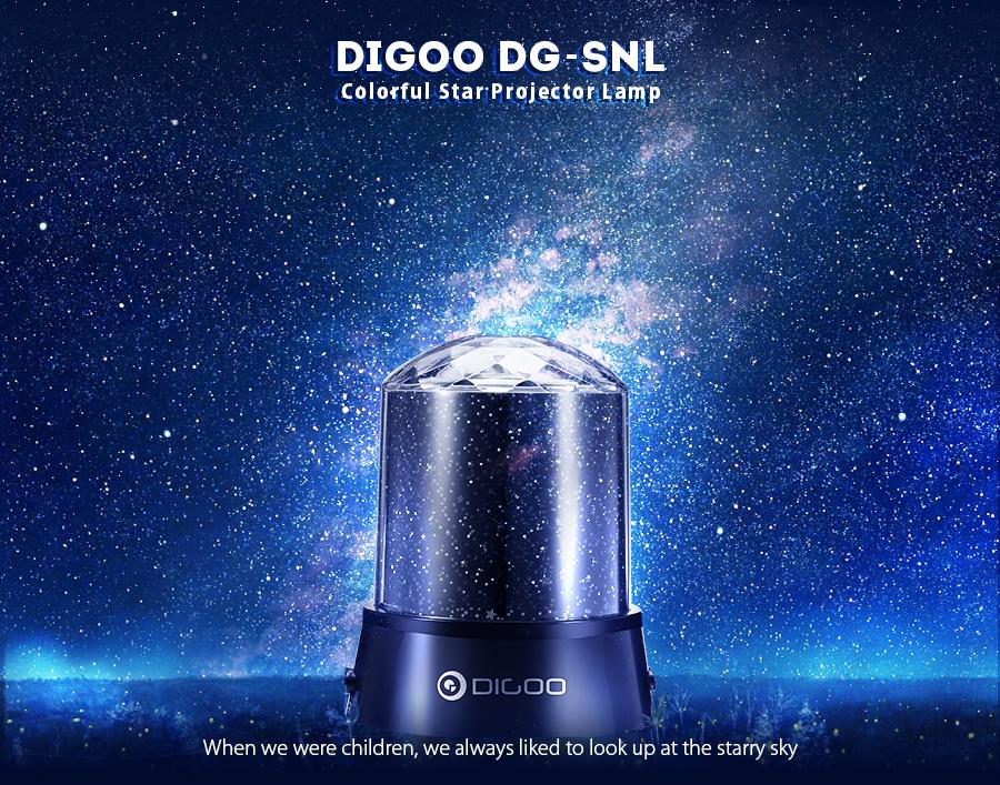 Digoo Dg Snl Amazing Night Light Kids Lamp Sky Star Cosmos