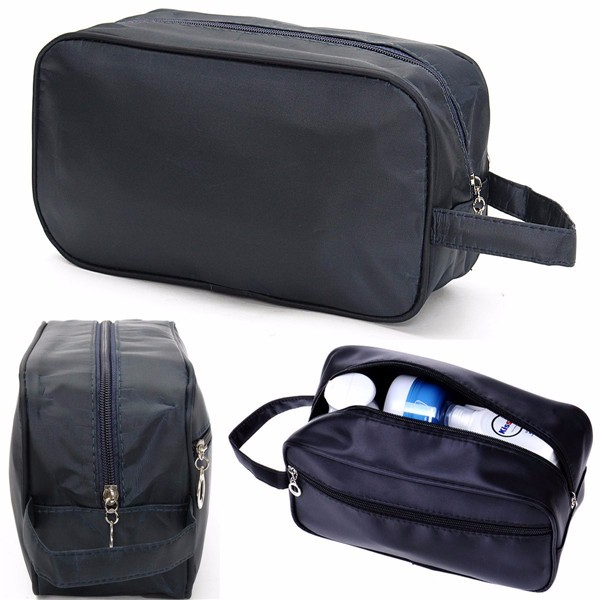 Buy Men Travel Waterproof Toiletry Bag Wash Shower Makeup Organizer Portable Carrying Case Phone Pouch