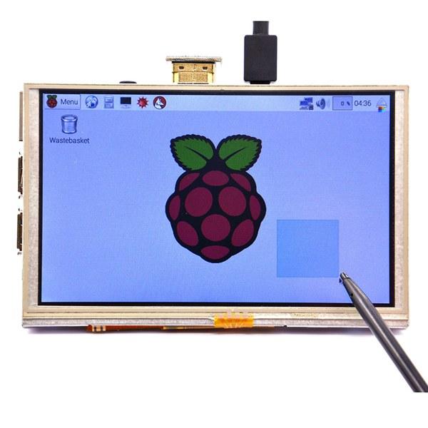Buy 5 Inch 800 x 480 HDMI TFT LCD Touch Screen For Raspberry PI 3 Model B/2 B/B+/A+/B