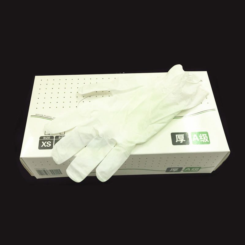 100pcs Disposable Gloves Tattoo Art Chemical Defense Pe