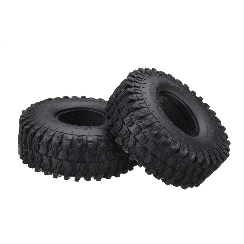 2PCS 1.9 Inch 1/10 120mm Climbing Vehicle Tyre Tires For TRX-4 Accessories RC Car Parts
