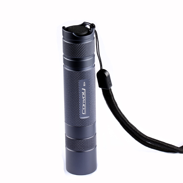 Buy Convoy S2+Grey XM-L2 7135x4 3/5Modes EDC LED Flashlight 18650