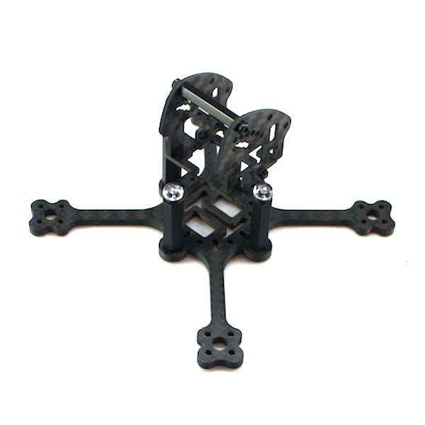 HBT99 99mm Wheelbase 3mm Arm 3K Carbon Fiber FPV Racing Drone Frame Kit 12.8g