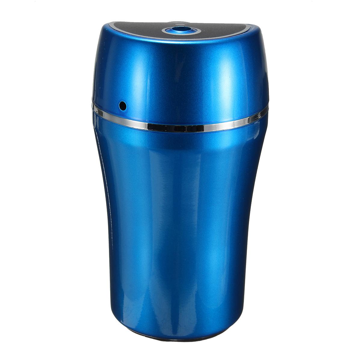 Portable Auto Car USB Cup forma de humidificador purificador de aire Ambientador