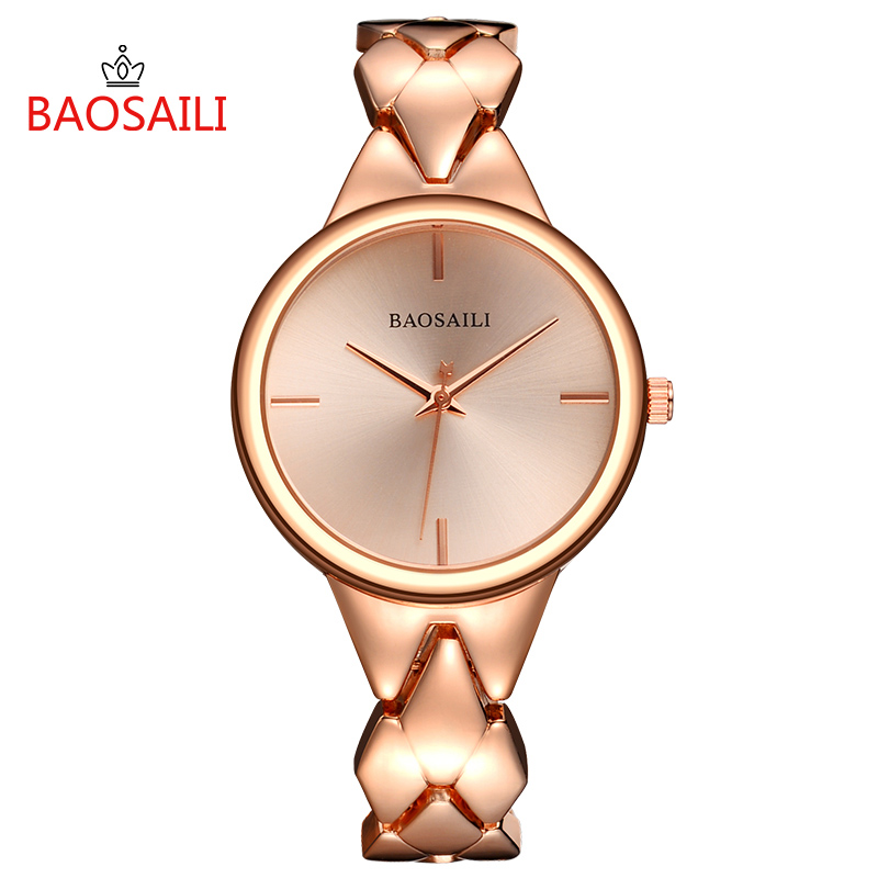 BAOSAILI Fashion Women Watch BSL1048 Luxury Ladies Simple Casual Quartz Wrist Watch