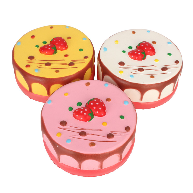 Squishy Cheesecake Toy : Squishy Jumbo Mousse Cheesecake 14cm Slow Rising Cake Collection Gift Decor Toy Sale - Banggood.com