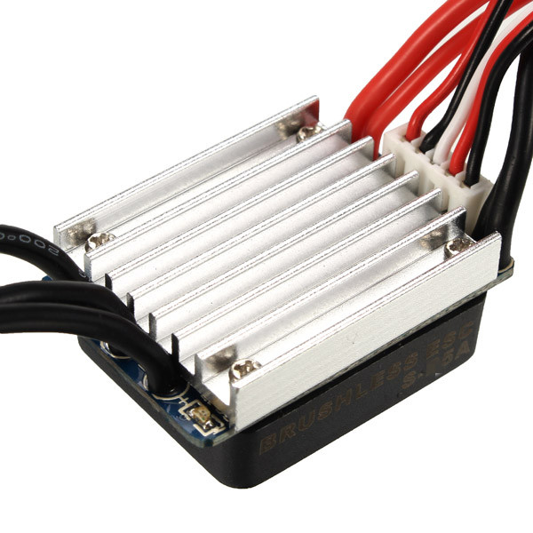 Racerstar 35A ESC Brushless Waterproof 1/14 1/16 1/18 RC Car Part - Photo: 3