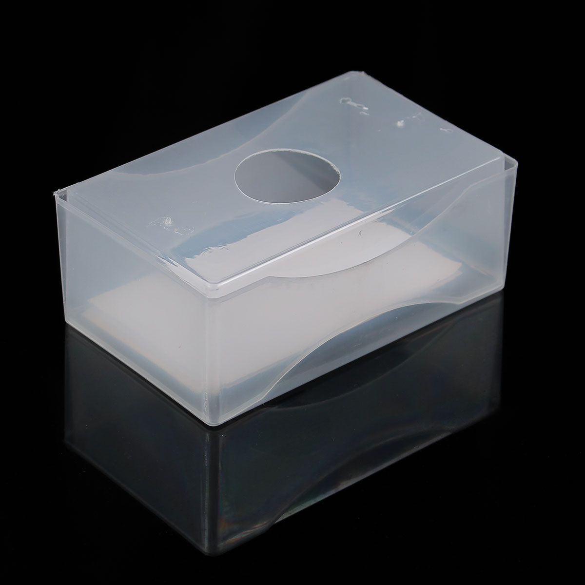 1pcs business card boxes clear plastic craft parts beads box holder container alex nld. Black Bedroom Furniture Sets. Home Design Ideas