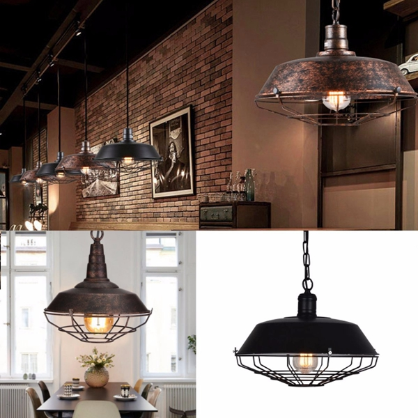 luminaire industriel loft bar lampe suspension plafonnier. Black Bedroom Furniture Sets. Home Design Ideas