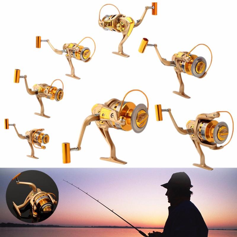 10BB 5.5:1 Gear Spinning Spool Fishing Reel Aluminum Sa