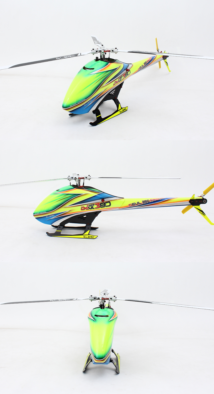 ALZRC Devil 380 FAST Three Blade Rotor TBR Helicopter Kit - Photo: 7