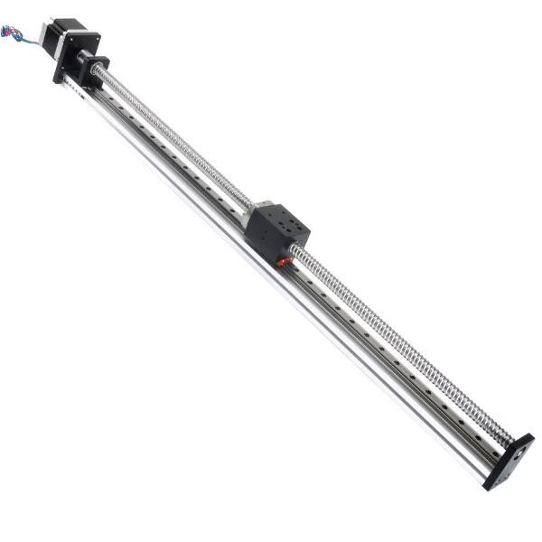 500mm Effective Stroke Linear Motion Guide Rail with G1605 Ball Screw and  57mm Nema 23 Stepper Motor