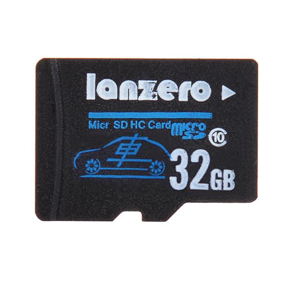 Buy Lanzero 32GB MicroSD Class10 TF Tachograph Memory Card for Xiaomi Yi EKEN H9 H8 sj5000x sj5000 plus K6000 sj4000 M20 Gitup 2 H8R Pro Car DVR Action Camera