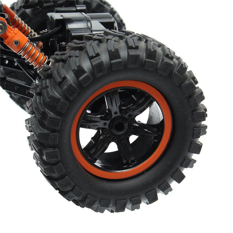 MZ 2838 1/14 2.4GHZ 4WD Off-road High-Speed Climbing WaterProof RC Car With Light Monster Truck Toys