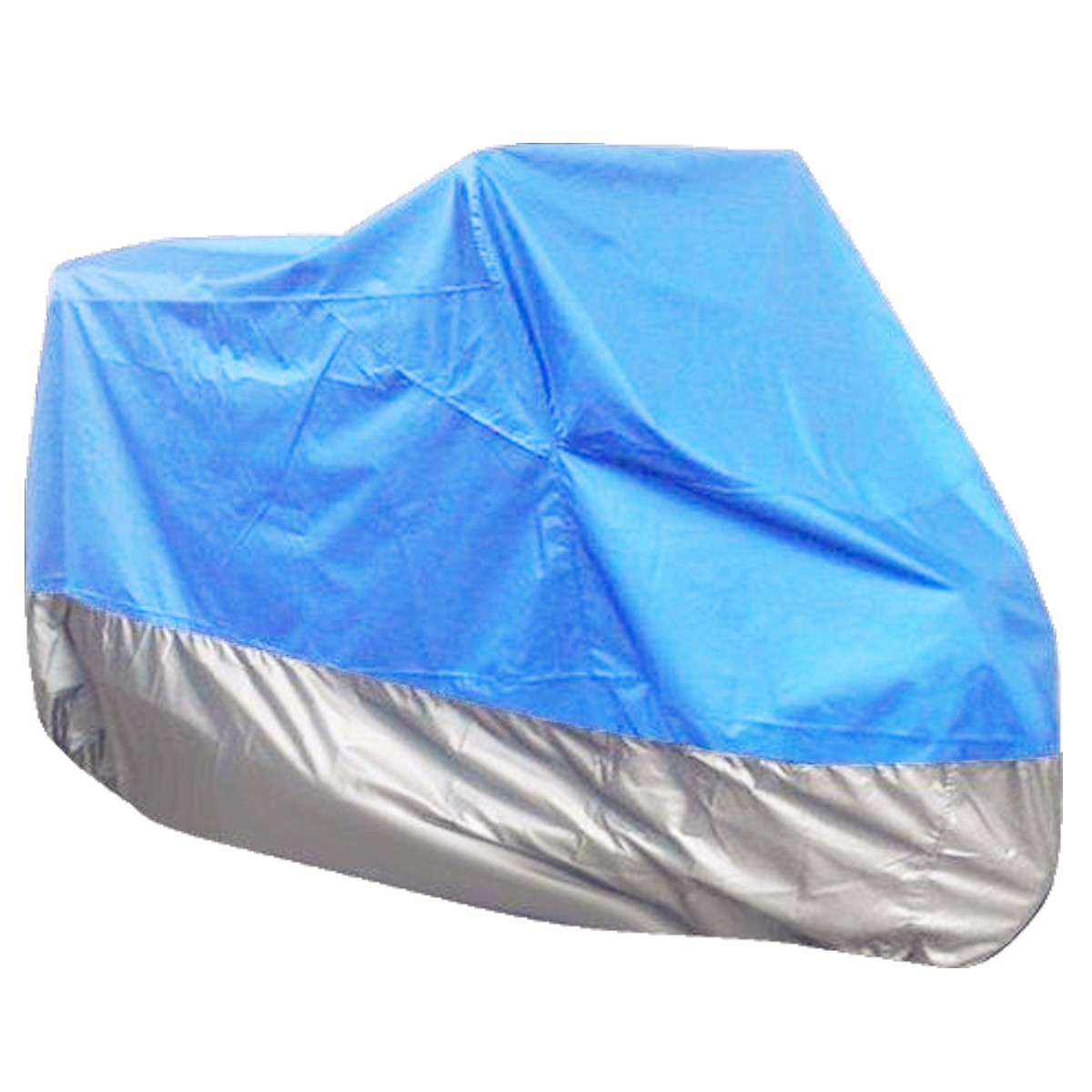 295110x140cm 180T Polyester Fabric Motorcycle Rain Cover Waterproof UV Snow Dust 3XL