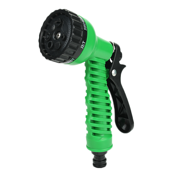 garden water hose reel with connector