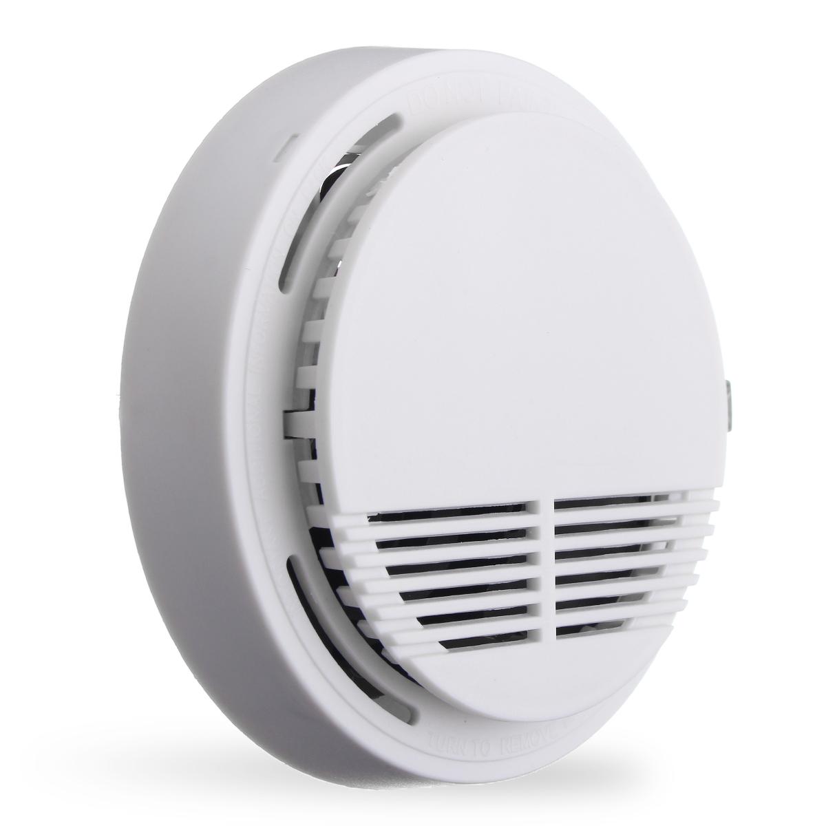 Home security system draadloos rookmelder brandalarm flevo shop - Rookdetector ontwerp ...