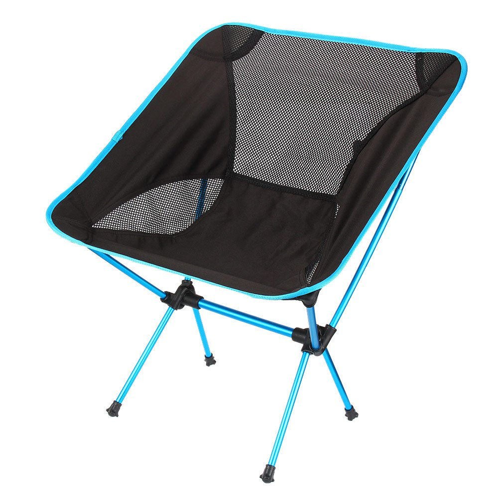 Buy Outdoor Portable Folding Chair Camping Hiking Beach Seat Stool For BBQ Picnic