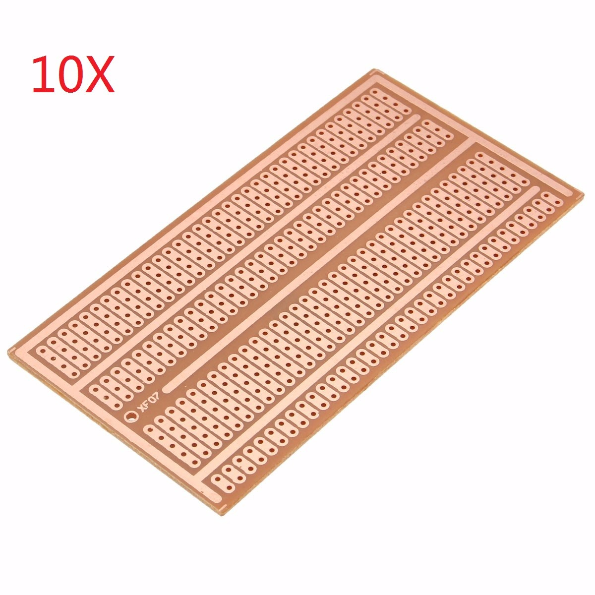 10pcs 5X10cm Single Side Copper Prototype Paper PCB Bre