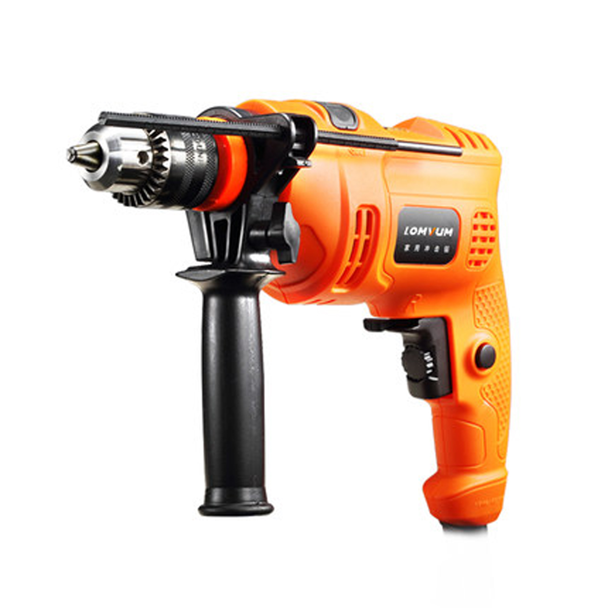 Lomvum Multi-function 600W 220V Impact Drill Electric Screwdriver Angle Grinder Power Tools Kit
