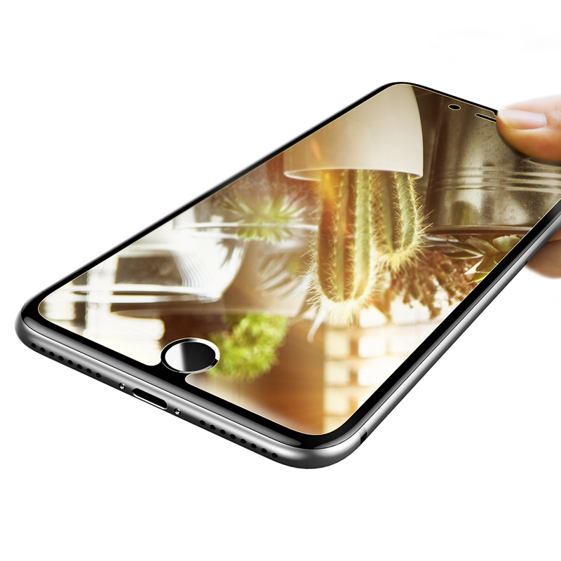 Baseus 0.3mm Mirror 9H Scratch Resistant Tempered Glass Screen Protector For iPhone 7 Plus 5.5 Inch