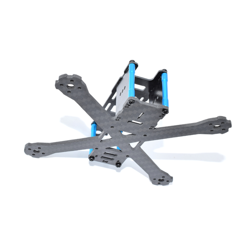 AuroraRC QAV105 105mm Carbon Fiber FPV Racing Drone Frame Kit 2mm Arm