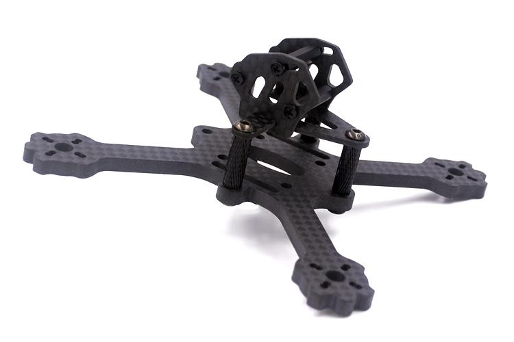 X3 EYAS 112mm Wheelbase 3mm/4mm Thickness Carbon Fiber FPV Racing Frame  - Photo: 2