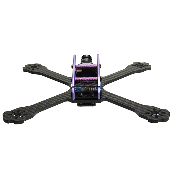 Realacc BETA210 210mm 4mm Arm Thickness Carbon Fiber Frame Kit with PDB and Battery Fixing Plate - Photo: 6