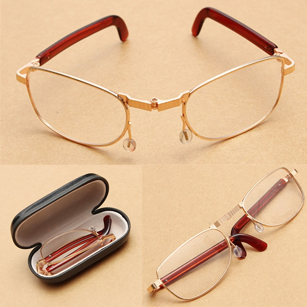 folding fold up compact reading glasses fatigue relieve