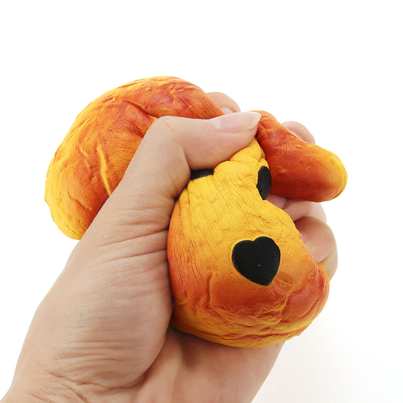 Squishy Face Collection : YunXin Squishy Dog Puppy Face Bread 15cm Slow Rising With Packaging Collection Gift Decor Soft ...