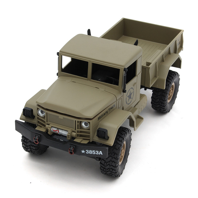 HengLong 1/16 4*4 High-Imitation RC U.S. Military Truck RTR Off-road Crawler Toy Cars