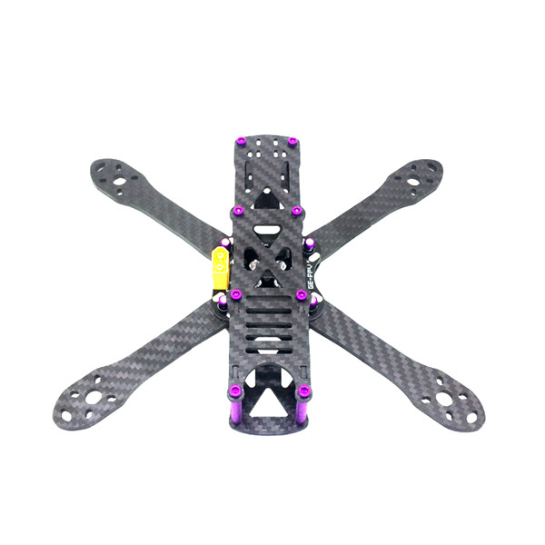 GE-5 210mm 4mm Arm Thickness Carbon Fiber Frame Kit with PDB for FPV Racing - Photo: 2