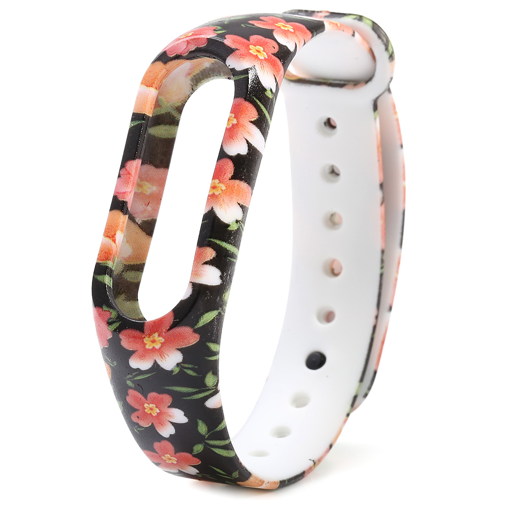 Buy TPU Replacement Silicone Wrist Strap WristBand Bracelet Watch for Xiaomi Miband 2