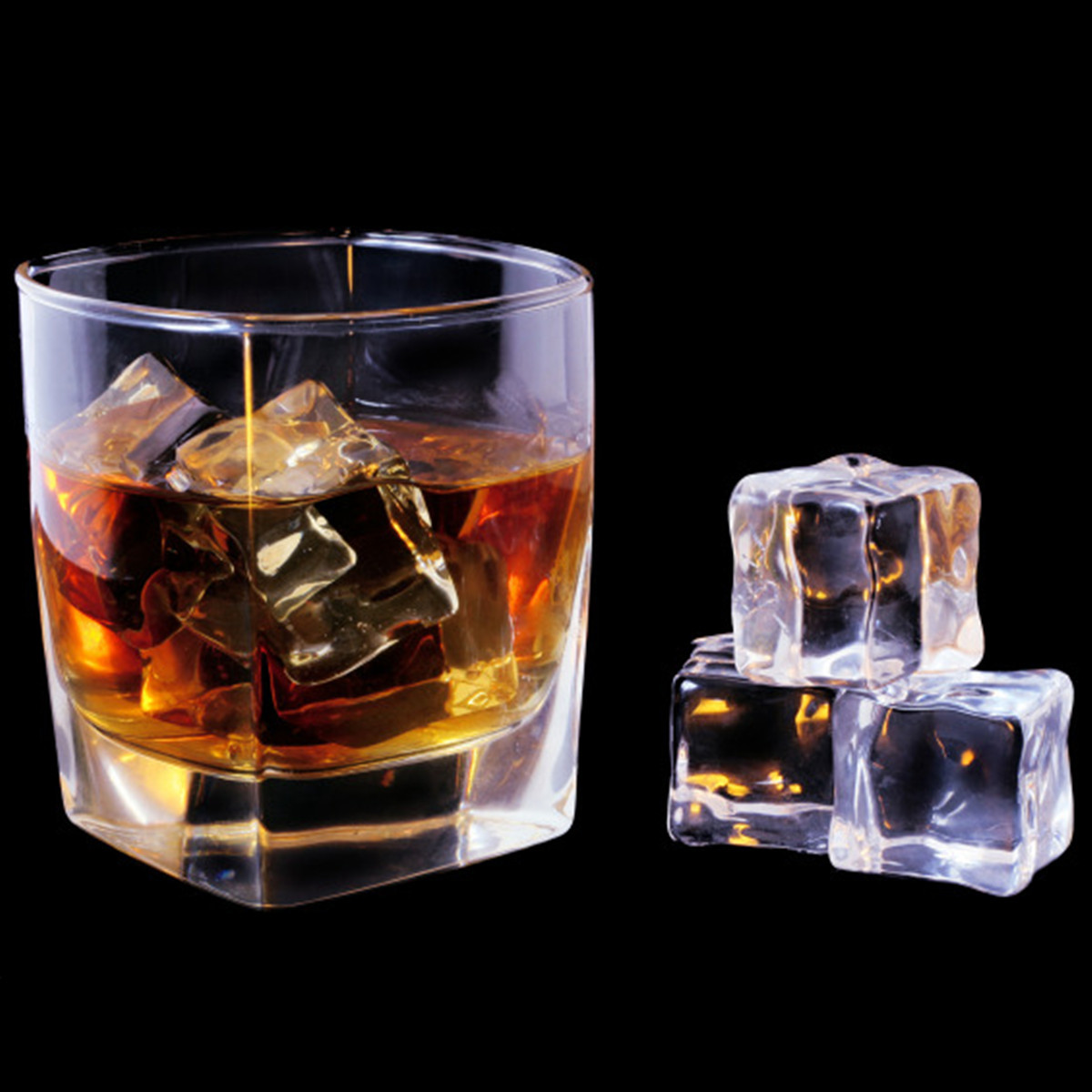 Pcs cm square fake scatters artificial acrylic ice
