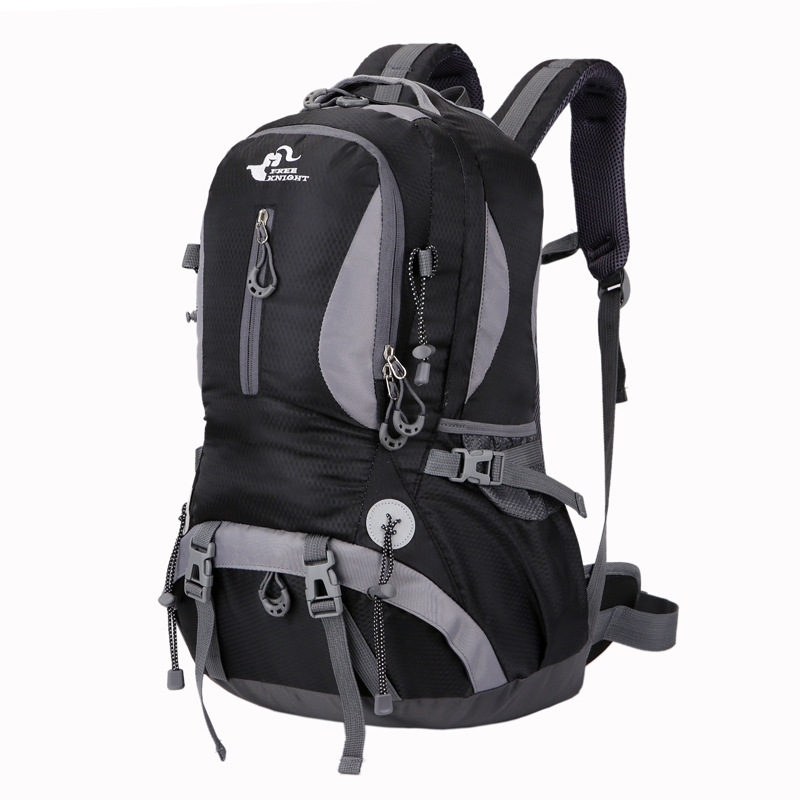 Buy Outdoor 40L Climbing Backpack Mountaineering Travel Shoulder Bag Waterproof Nylon Pack