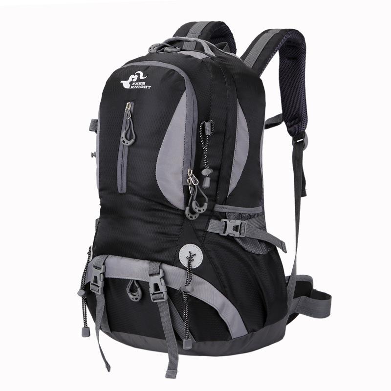 Buy Outdoor 40L Climbing Backpack Mountaineering Travel Shoulder Bag Waterproof Nylon Pack