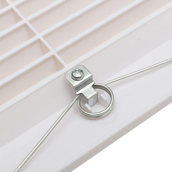 White Plastic Grille Ceiling Fan Ventilation Cover ...