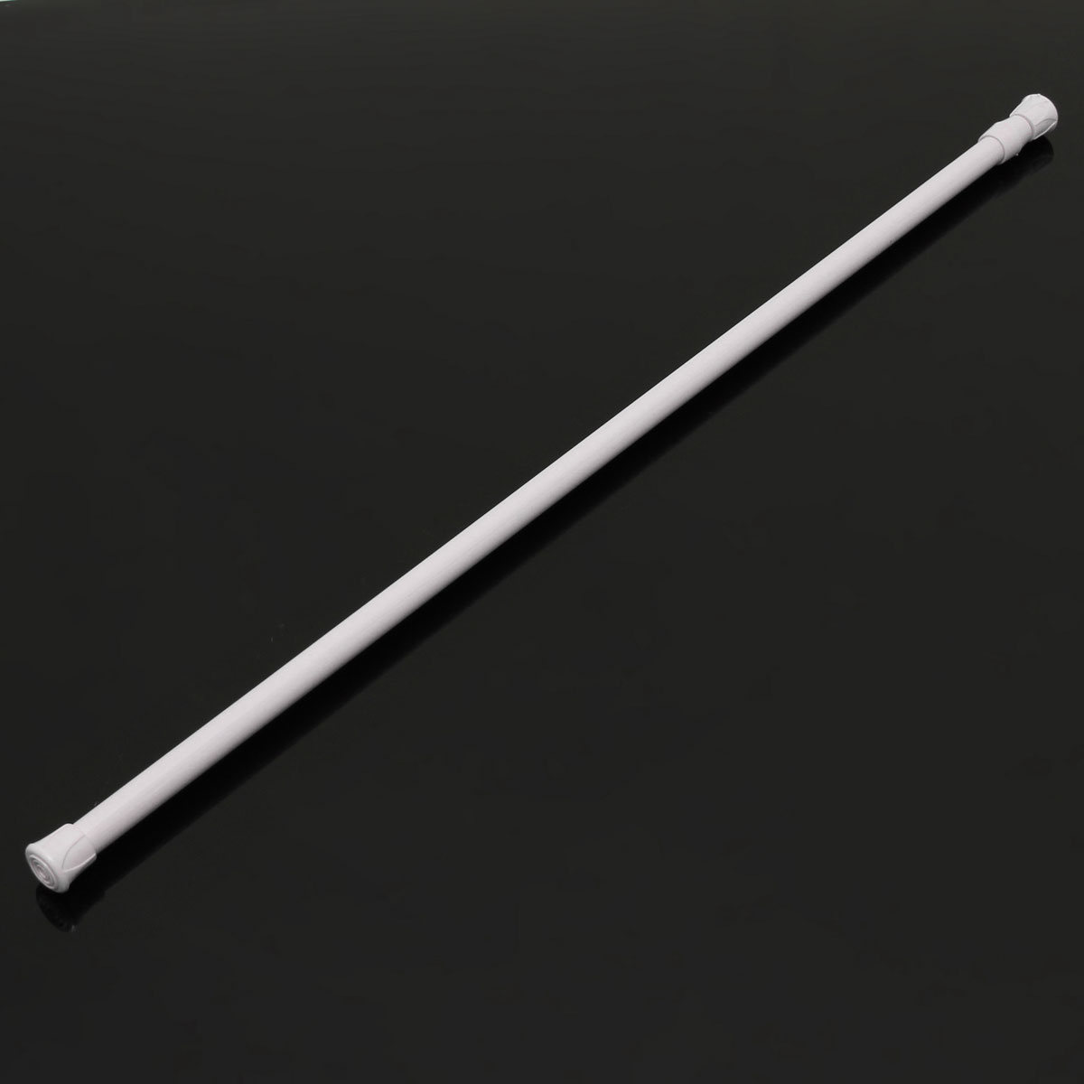 60 110cm Extendable Adjustable Spring Tension Curtain Rod