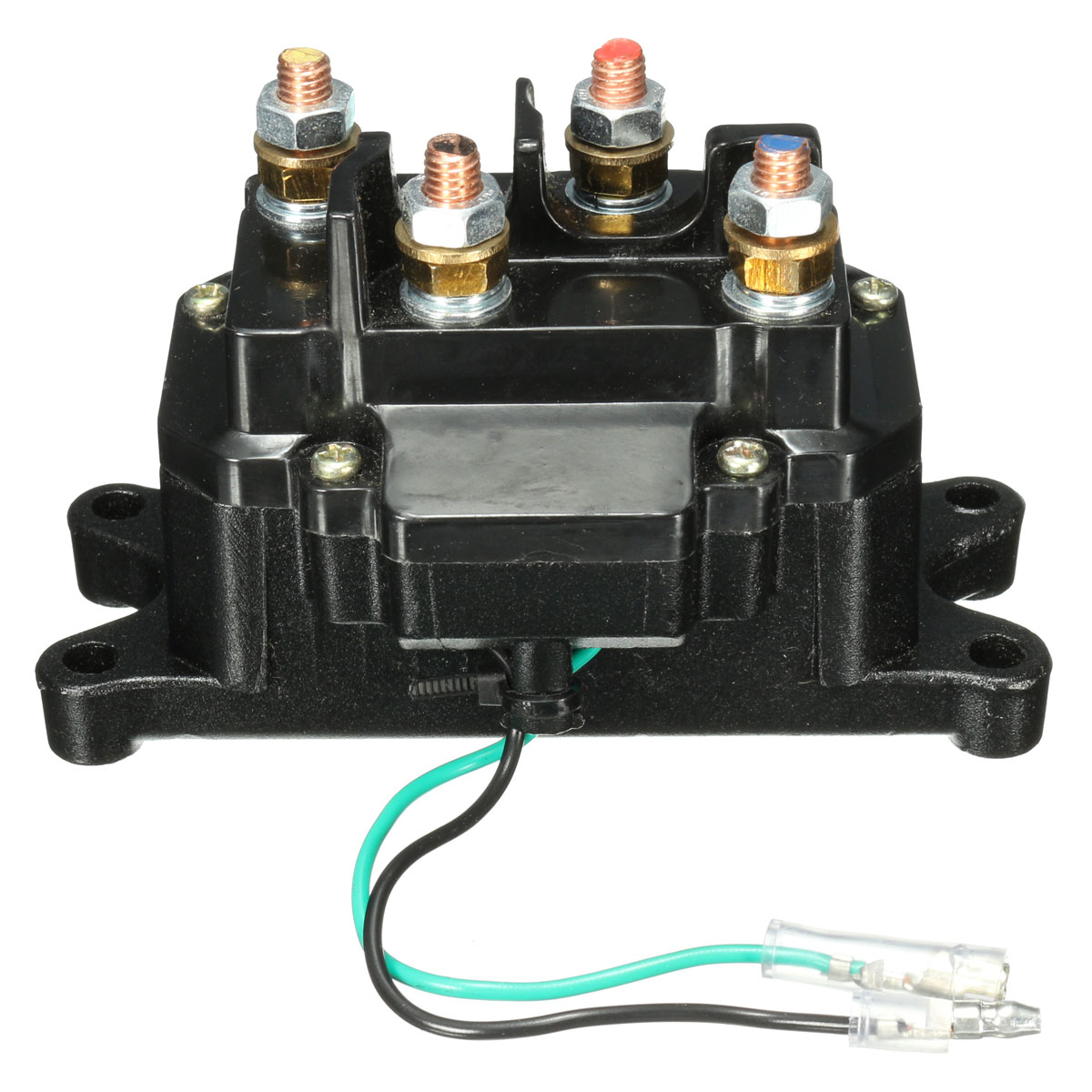 12v solenoid relay contactor winch rocker thumb switch for atv utv. Black Bedroom Furniture Sets. Home Design Ideas