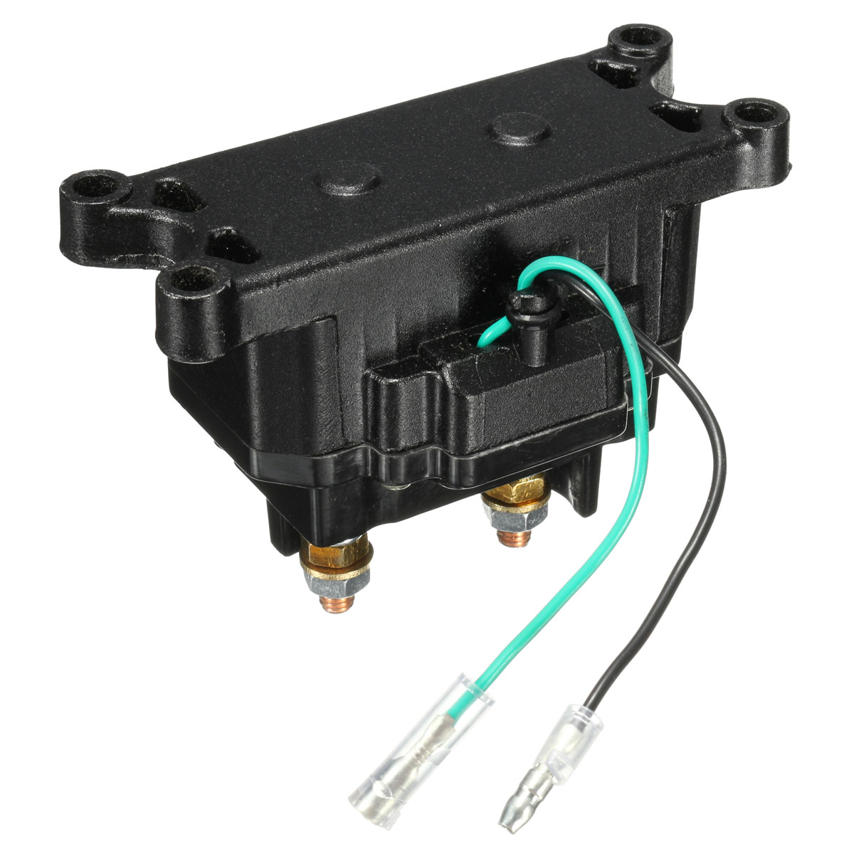 12v solenoid relay contactor winch rocker thumb switch for. Black Bedroom Furniture Sets. Home Design Ideas