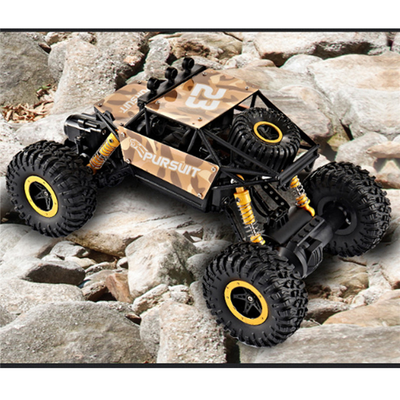 ZINGO Racing 9123 1/18 2.4G 4WD RC Car Rock Crawler High Speed ​​Off-Road Vehicle Toys Gift