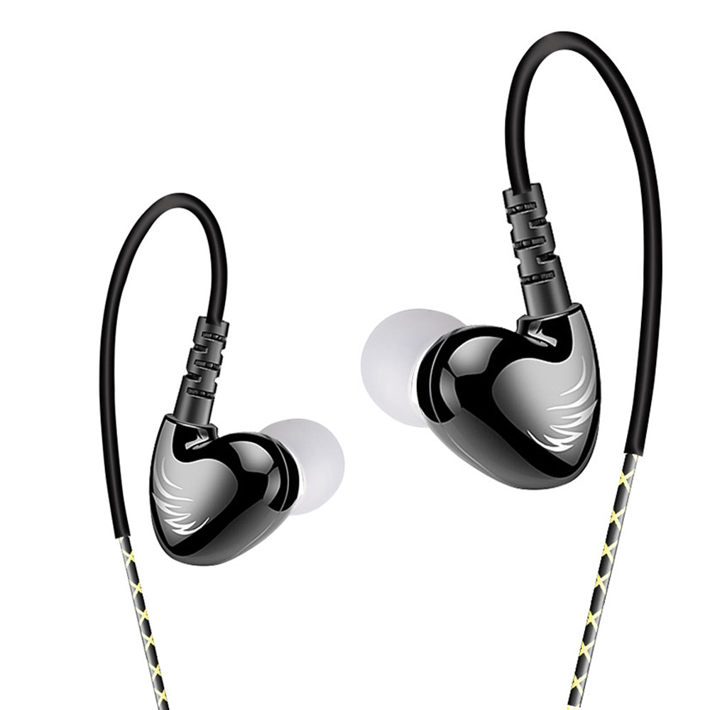 W1B 3.5mm In-Ear Sports Earphone Waterproof Subwoofer B