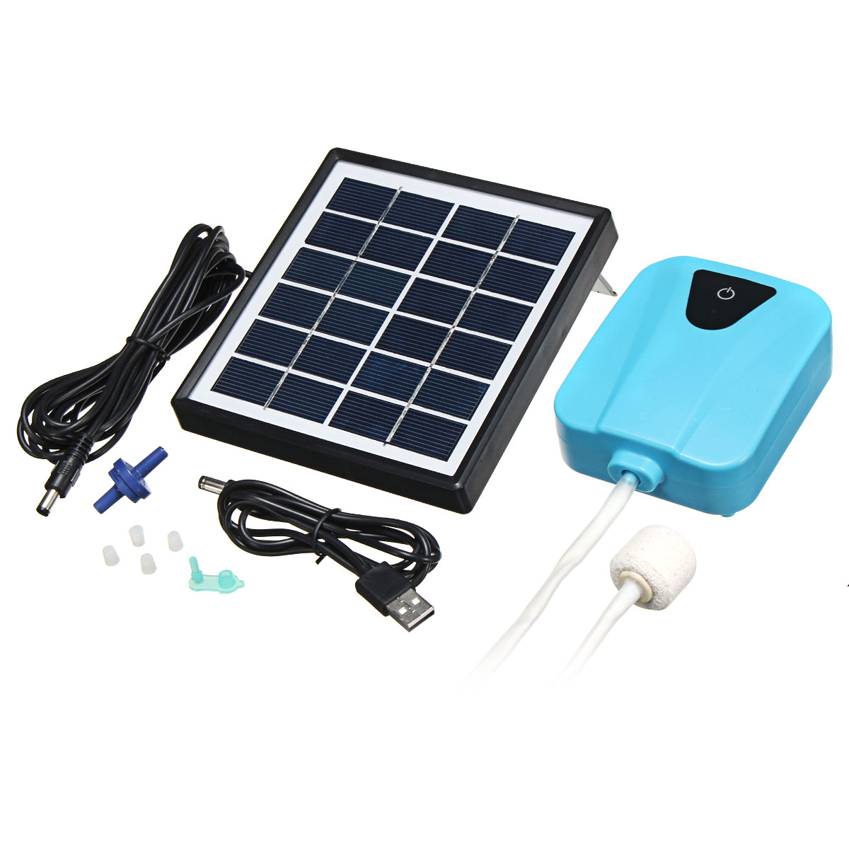 Mini Outdoor 3.7V Water Pump Solar Powered Panel For Fi