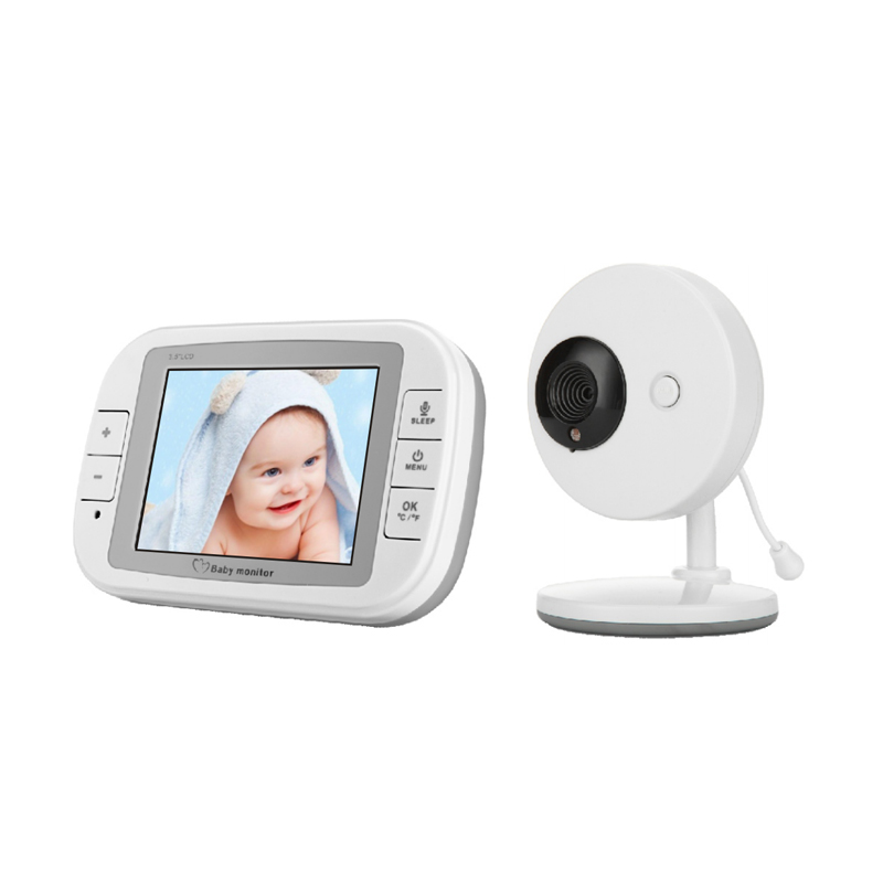 Vvcare    Inch  GHz Wireless Baby Monitor TFT LCD Video de visión nocturna vías