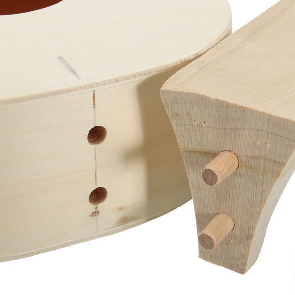 21 Inch Unassembled Wooden Ukulele With Musical Accessories for Guitar DIY - Photo: 3
