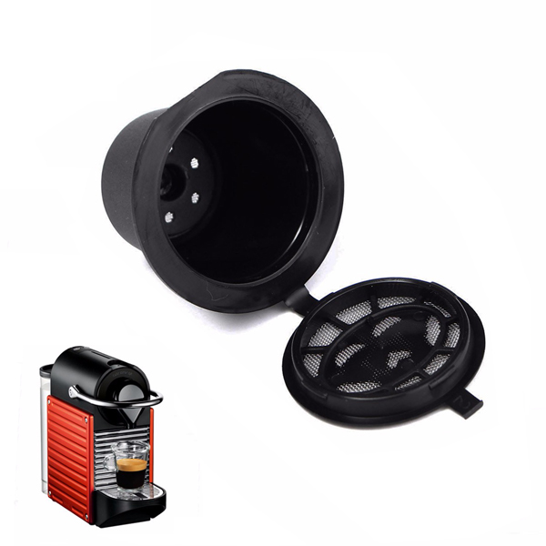 Home Kitchen Refillable Coffee Capsule Cup Reusable Ref