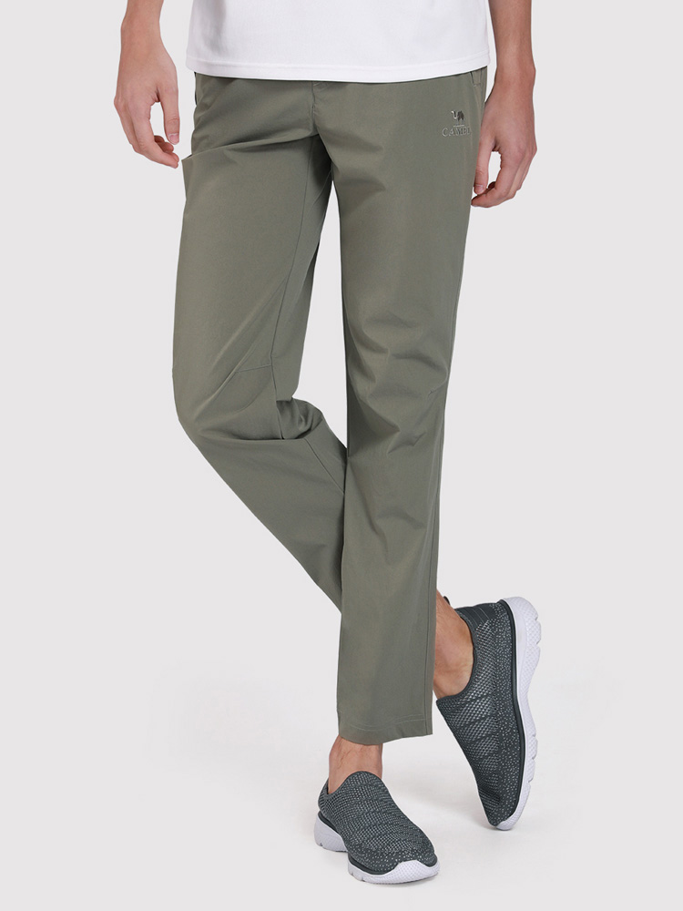 Camel Crown s Sports Quick Dry Slim Slim Stretch Pantalon ceinturé décontracté - Newchic - Modalova