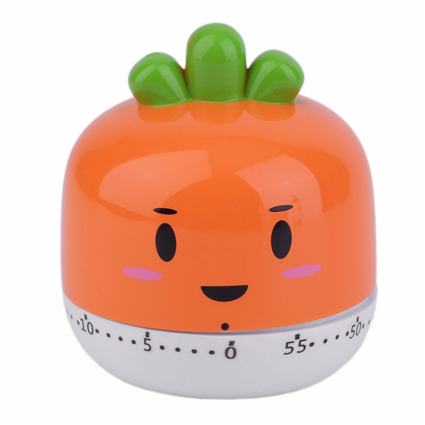 Cute Fruit Vegetables Style Cartoon Kitchen Timer Alarm Clock Cooking Tools Kitchen Accessories SKU768000